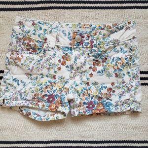 JOE'S JEANS girls floral shorts